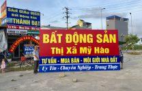 Văn Phòng Tư Vấn Nhà Đất tại Phố Nối Thị xã Mỹ Hào